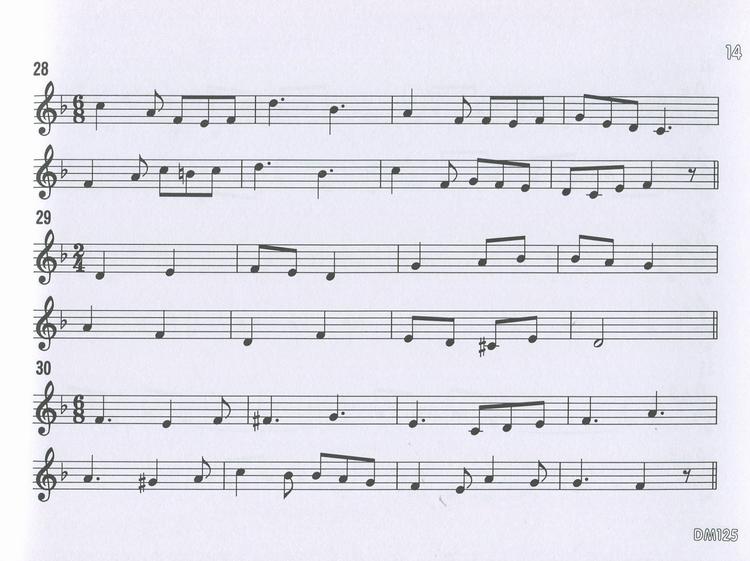 DOREMI 快乐的视唱视奏与听音 高级