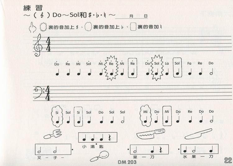 DOREMI DO RE MI 音乐律动 第3级