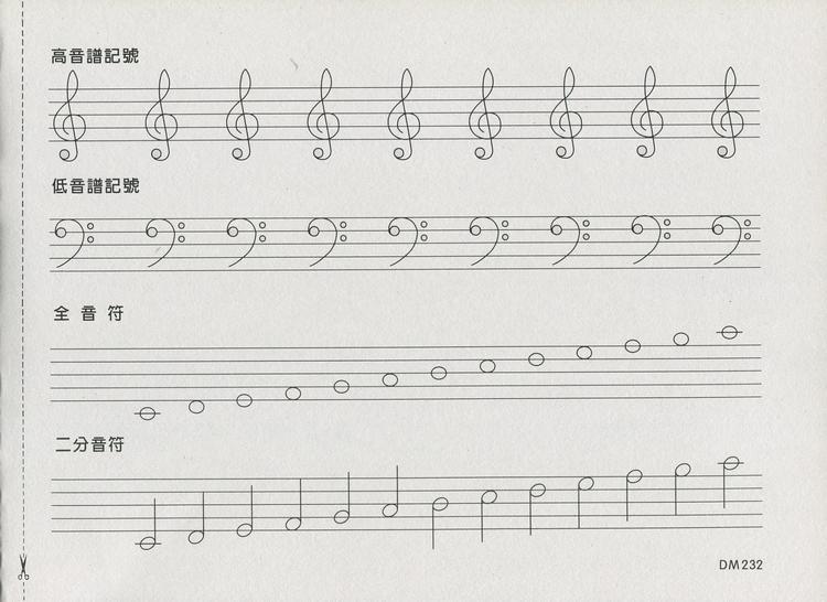 英文歌doremi谱子