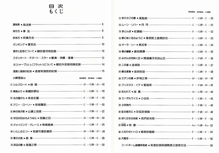 M353《日本DOREMI》快乐的陶笛名曲集1【CD+乐谱】-DM353 日